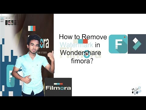 How To Remove Water Mark In Wondershare Filmora| Explain Tamil