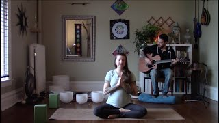 Yoga + Sound Healing with Sage & Sweetgrass | Live Recording: March 19, 2020