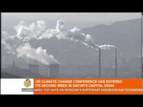 Greenpeace Speak at COP 18,Qatar- China's Coal Pollution