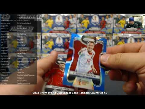 4/29/2018 2018 Prizm World Cup Soccer Case Random Countries #1