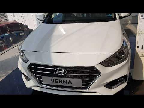 4K Super HD | 🚔 2018 Hyundai VERNA SX (O) : Interior and Exterior