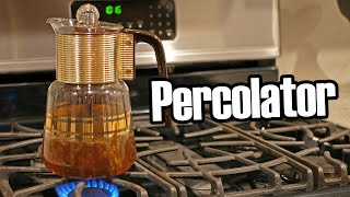 Coffee Percolators: An Explanation and Roast