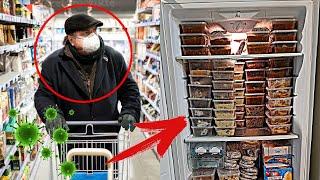 Люди показали ЗАПАСЫ продуктов на случай изоляции... ВЫ ТОЛЬКО ПОСМОТРИТЕ!