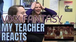 Video My Teacher Reacts Part 3: Fantasy VIXX | Non Kpopper Reaction download MP3, 3GP, MP4, WEBM, AVI, FLV Maret 2018