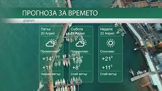 Прогноза за времето на 20-ти, 21-ви и 22-ри Април 2018г.