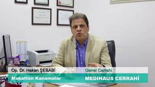 Makattan Kanamalar - Op. Dr. Hakan ŞEBABİ