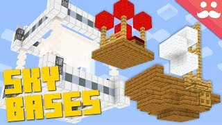 Minecraft SKY BASE: 10 Minute, 1 Minute, 10 Second!