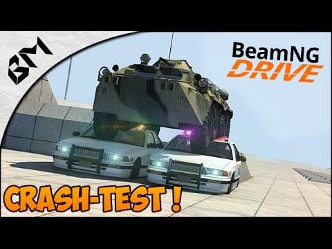 BeamNG Drive - Crash Test - GTA IV Airport - Crash d'avion !