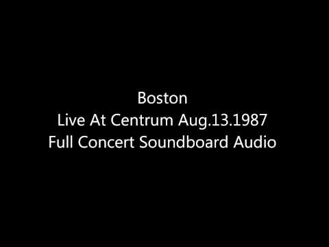 Boston Third Stage Tour Live At Centrum AUG.13.1987 Full Soundboard Live