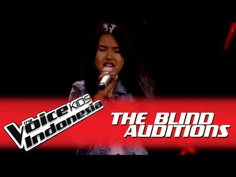 "Shakira ""Rather Be"" I The Blind Auditions I The Voice Kids Indonesia GlobalTV 2016"