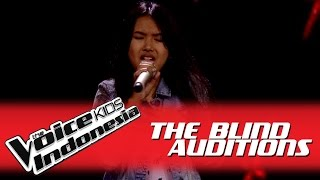 """Shakira """"Rather Be"""" I The Blind Auditions I The Voice Kids Indonesia GlobalTV 2016"""