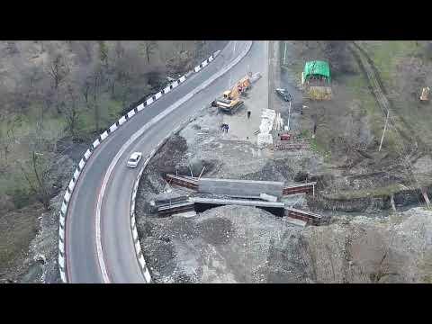 В Северной Осетии на трассе А-162 Владикавказ – Алагир капитально отремонтируют два моста