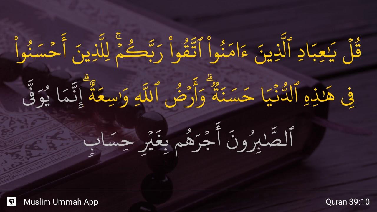 Qs 3910 Surah 39 Ayat 10 Qs Az Zumar Tafsir Alquran