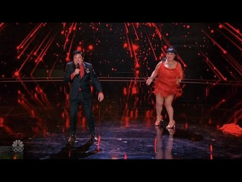 America's Got Talent 2016 Vegas Charlie & Rose Full Judge Cuts Clips S11E10
