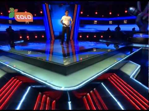 Blind Auditions: Payanda Amini Sings Ba Delam Nazdik from  Fawad Ramiz