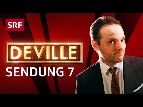 Deville - Musiklegende Lee Scratch Perry in der Late-Night-Show - Folge 7 - #deville