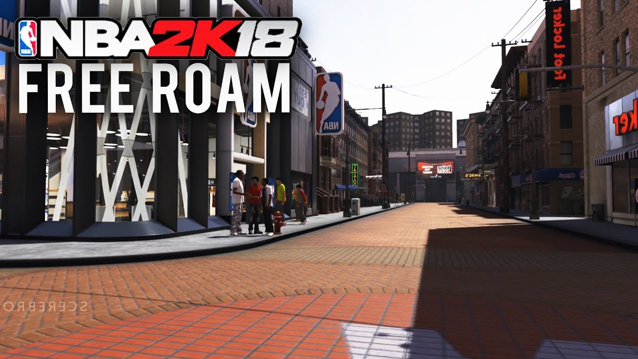 NBA 2K18   Free Roam (Getting Inside Every Building) ALL INTERIORS