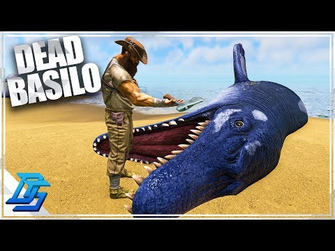 Time to fly & Dead Basilosaurus?  - Ark Survival Evolved - P