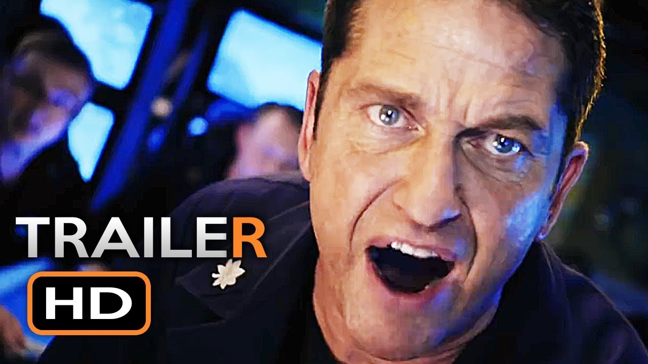 HUNTER KILLER Official Trailer (2018) Gerard Butler Action Movie HD