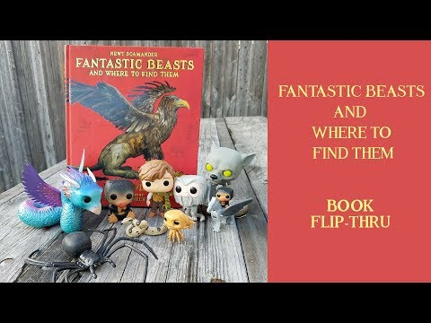 illustrated-fantastic-beasts-and-where-to-find-them-|-harry-potter-|-reveal