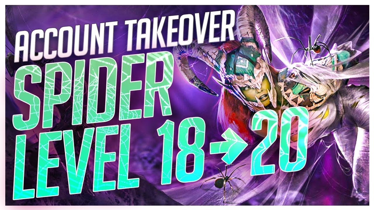 RAID | ACCOUNT TAKEOVER! | SPIDER FROM LVL 18 TO 20!