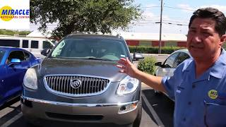 Miracle Auto Glass – Buick Enclave Windshield Replacement