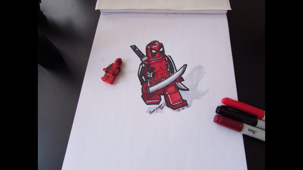 Deadpool 30 Superhéroes: How To Draw Deadpool