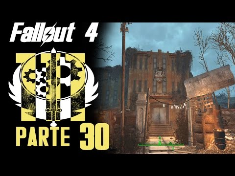FALLOUT 4 | parte 30: Escuela Preparatoria de East Boston