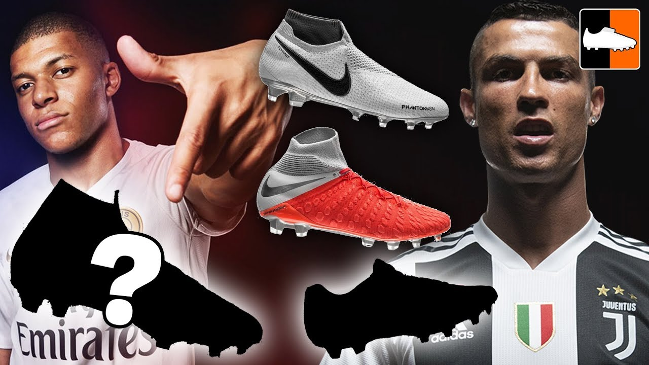 Ronaldo, Neymar & Mbappe's New Boots! Nike Raised On Concrete Cleats!