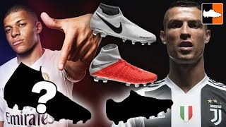 Ronaldo, Neymar & Mbappe's New Boots! Nike Raised On Concrete Cleats!