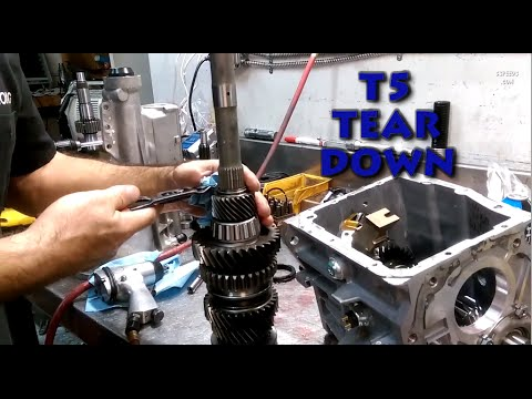 How to disassemble a T5 World Class Transmission