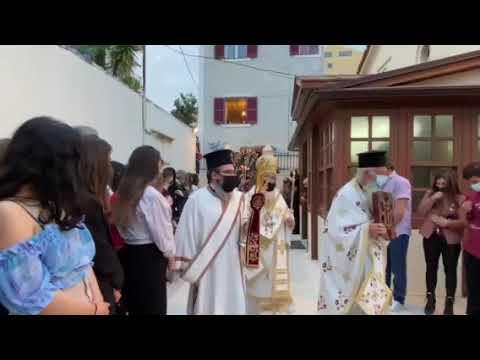 Περιφορά επιταφίου: Αγιος Χαράλαμπος Πρεβέζης