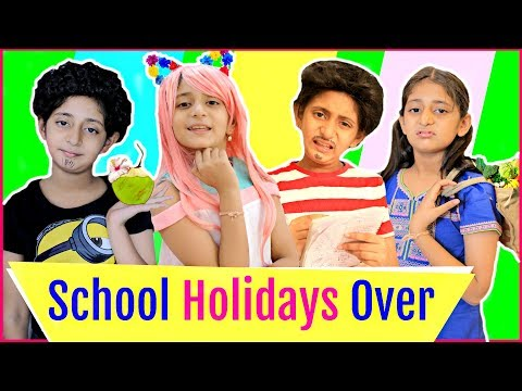 LAST Day Of SUMMER Holidays...| MyMissAnand