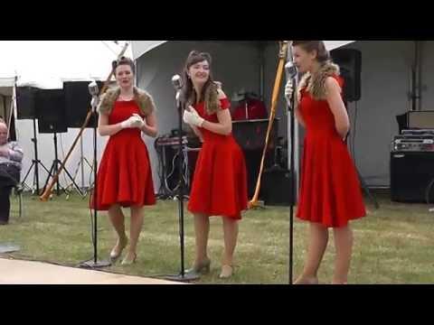 Vintage Girl Act MY FAVORITE THINGS Sing Sing Sing TAP DANCING The Lawn Rochford