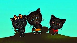 Мультики для малышей - Три котенка - Мой голову (4 сезон | серия 2)