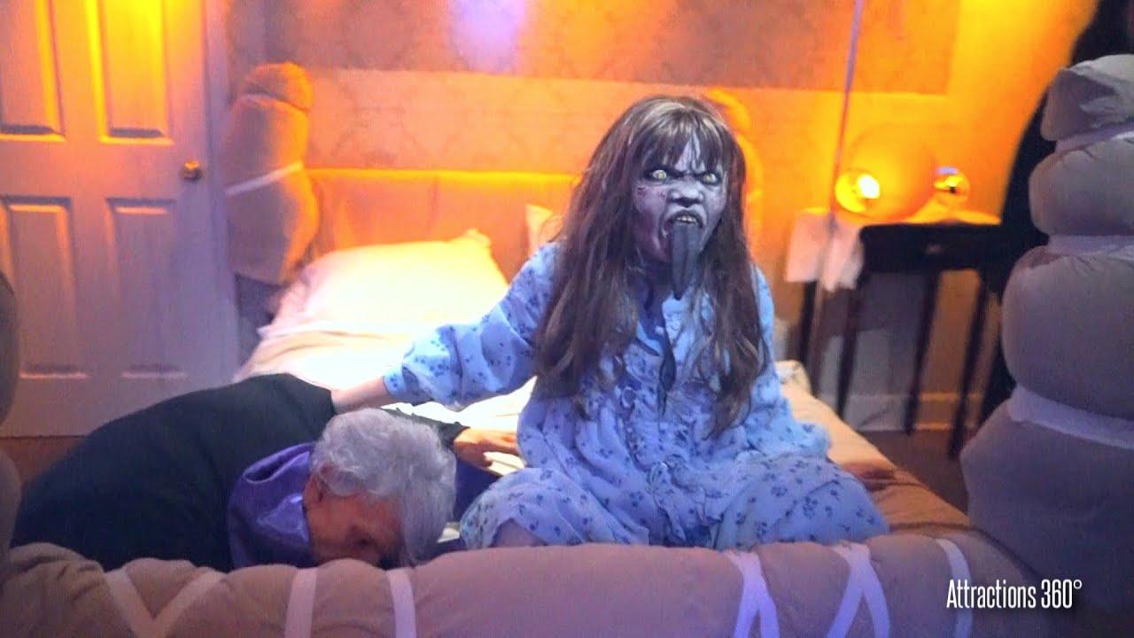 the exorcist horror maze experience hollywood halloween horror