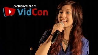 "VidCon 2012 - Harry Shum Jr/Christina Grimmie Talk ""Remixed"""