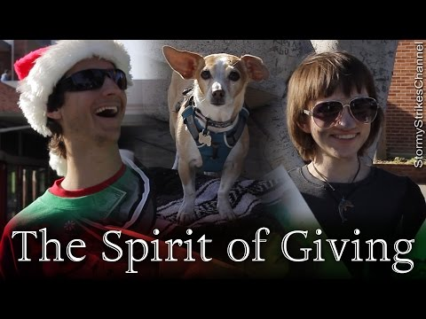 """""""The Spirit of Giving"""" ~ Short Student Holiday Film"""