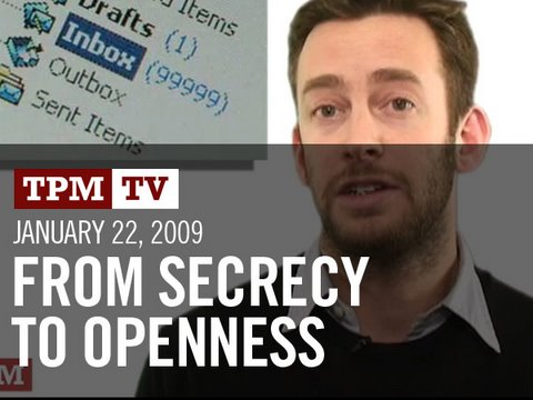TPMtv: From Secrecy to Openness