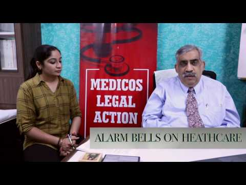 Doctors  strike and violence; Medicos Legal Action Group video
