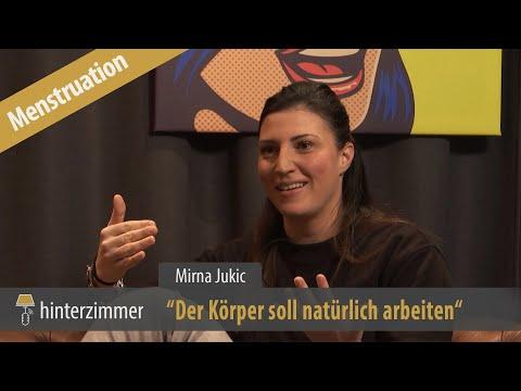 Menstruation beim Schwimmen - Die Regelfrage - Mirna Jukic | Hinterzimmer #029