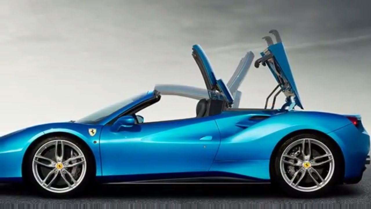 The Ferrari 488 Spider Convertible Revealed