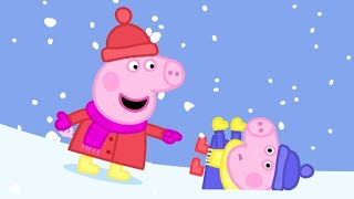 Peppa Pig English Episodes | Peppa Pig has Fun in the Snow | Peppa Pig Official