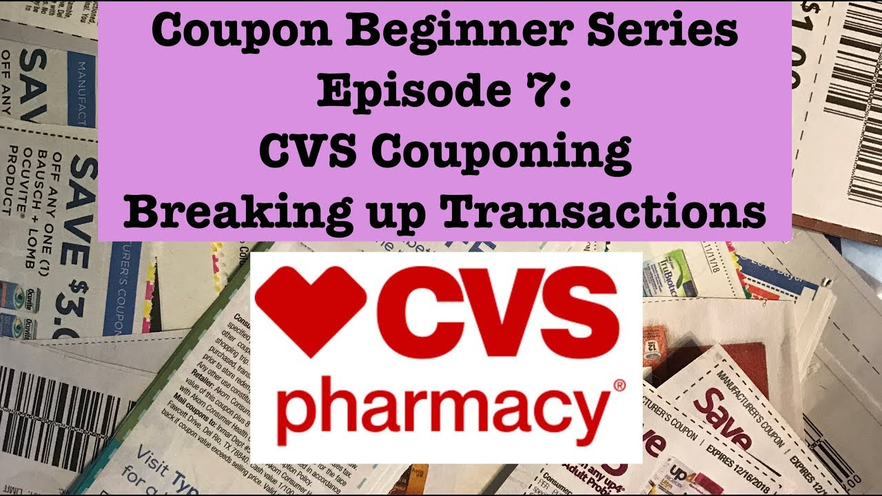 cvs coupon transactions