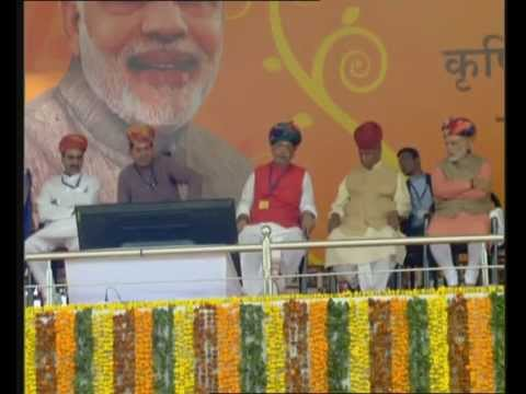 PM Modi launches Soil Health Card (SHC) Scheme in Sriganganagar, Rajasthan
