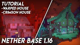 How To Build a Nether Base in Minecraft 1.16 (Minecraft Nether Update)