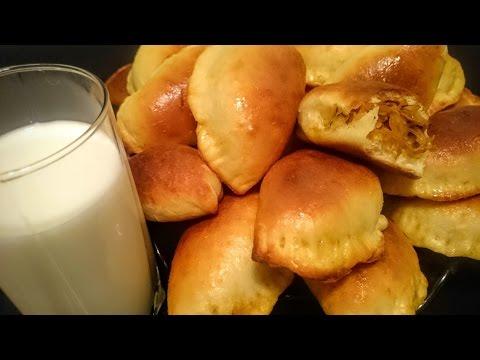 Вкусные пирожки с капустой в духовке рецепт Секрета приготовления теста