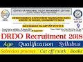 DRDO Recruitment 2018 CEPTAM 9 || DRDO CEPTAM 9 Vacancy Age limit, qualification, syllabus, salary