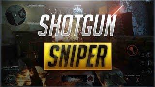SHOTGUN SNIPER IN WW2 BETA GAMEPLAY