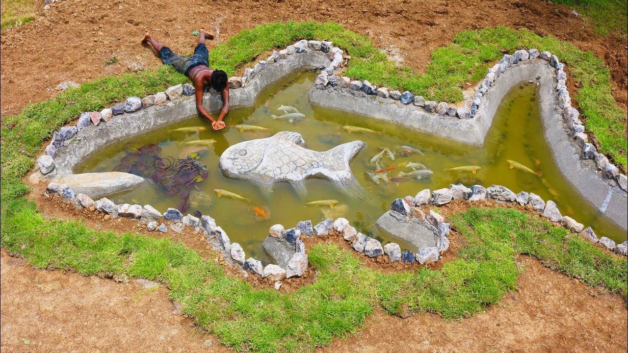 Build  Fish Pond And Raising​​
